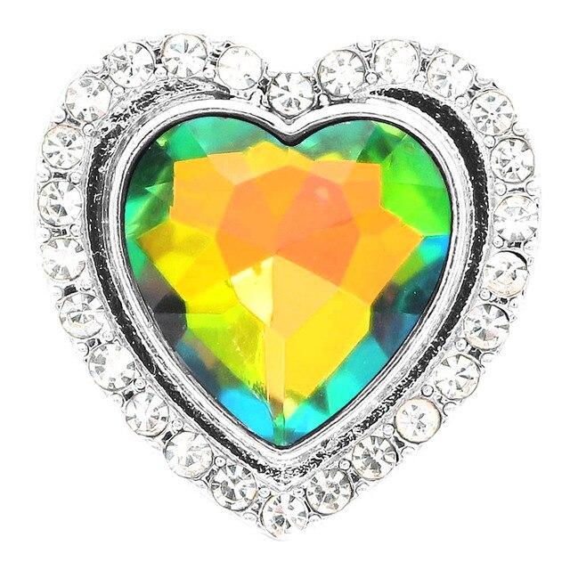 Snap Jewelry Heart Shape...