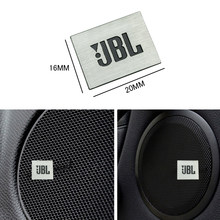 1pcs Aluminum JBL Car audio sticker Audio stickerFor BMW E46 E39 E90 E60 E36 F30 F10 E34 X5 E53 E30 F20 E92 E87 M3 M4 M5 X5 X6(China)
