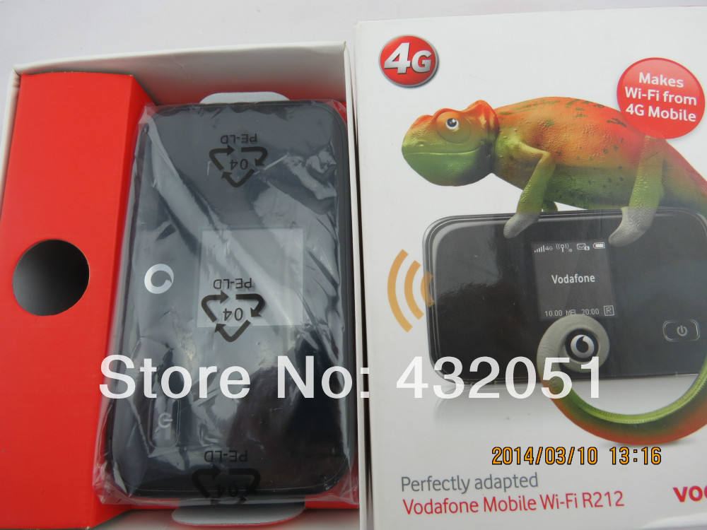 ФОТО Vodafone R212 4G Mobile WiFi Hotspot