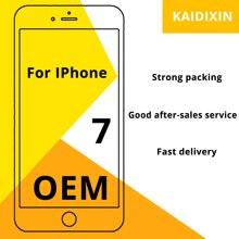 OEM AAA + + + Qualität Für iPhone 7 LCD 100% Keine Tote Pixel pantall Für iPhone 7 Screen Digitizer montage Ersatz kostenlose Tools