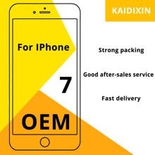 Oem aaa + + + qualidade para iphone 7 lcd 100%, sem pixel morto, calcinha para substituição, digitalizador de tela para iphone 7 ferramentas gratuitas,