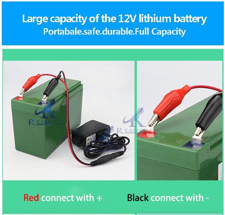 Baterry charger 12v battery rechargeable battery for Access Control System ups battery 12v controller power supply