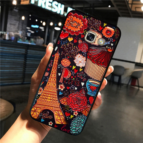YonLinTan luxury coque,cover,case For Samsung Galaxy a5 2016 a510 Back etui 3D cute mobile phone 360 Original cases accessories Lahore