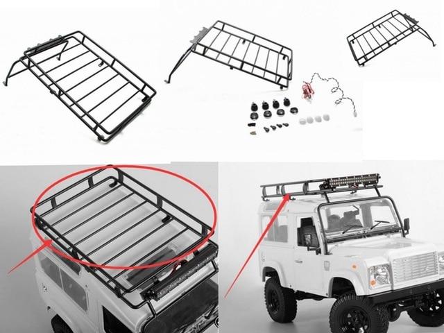 110 scx10 ii metal cage roof luggage tray wlight bar for defender 110 scx10 ii metal cage roof luggage tray wlight bar for defender aloadofball Choice Image