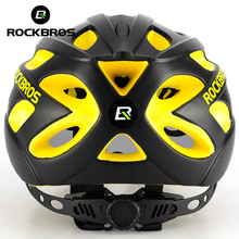 ROCKBROS Integrally-molded Bicycle Helmets Goggles Ultralight Magnetic MTB Mountain Bike Cycling With Sunglasses