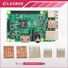 Raspberry Pi 3 Modèle B 1G 64-Bit Quad-Core ARM WiFi & Bluetooth + CPU Aluminium Dissipateur de Chaleur Pour Raspberry Pi 3 Livraison gratuite