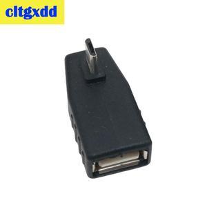 Image 5 - Cltgxdd USB Weiblichen zu Micro USB Männlich 90 Grad Nach Unten rechts Winkel Links Winkel UP OTG Adapter Für handy MP3 Schwarz Stecker