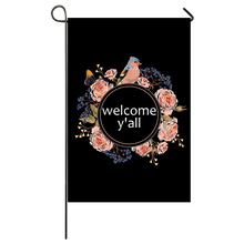 welcome yall  Garden Flag Home Decor Flags Happy Festival Household Hanging