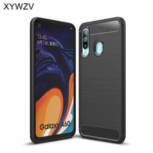 For Samsung Galaxy A60 Case Armor Protective Soft Silicone Rubber Phone Case For Samsung Galaxy A60 Back Cover For Samsung A60 protective zebra wood back case cover for samsung galaxy s4 brown yellow