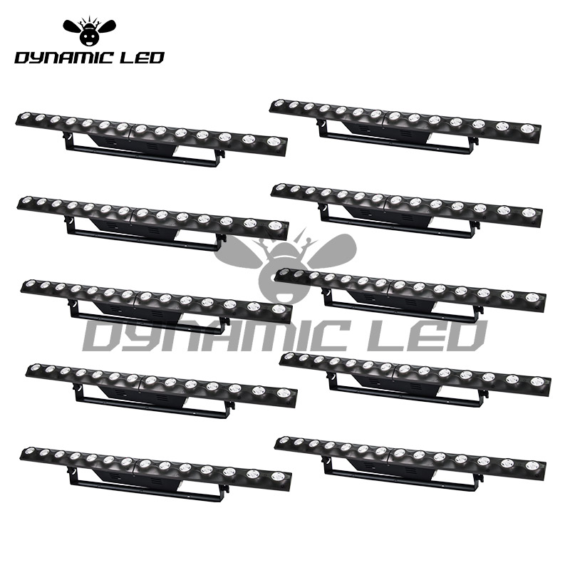 Lights & Lighting Liberal 10pcs Wall Washer Led Dj Bar Light Dj Stage Lighting Dmx Wall Controller Bar 2in1 Dj Light Dj Garden Hotel Building Church Aromatic Character And Agreeable Taste Stage Lighting Effect