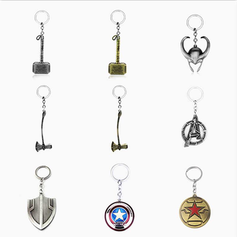 Дропшиппинг герои Мстители 3 Бесконечность войны брелок Капитан Америка Тор танос ювелирные изделия аксессуары