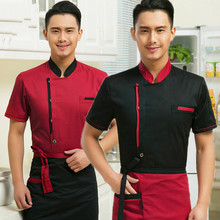 Cooks Kitchen Colors High Quality Chef Uniforms Clothing Female/men Restaurant Chefs Apparel Ladies