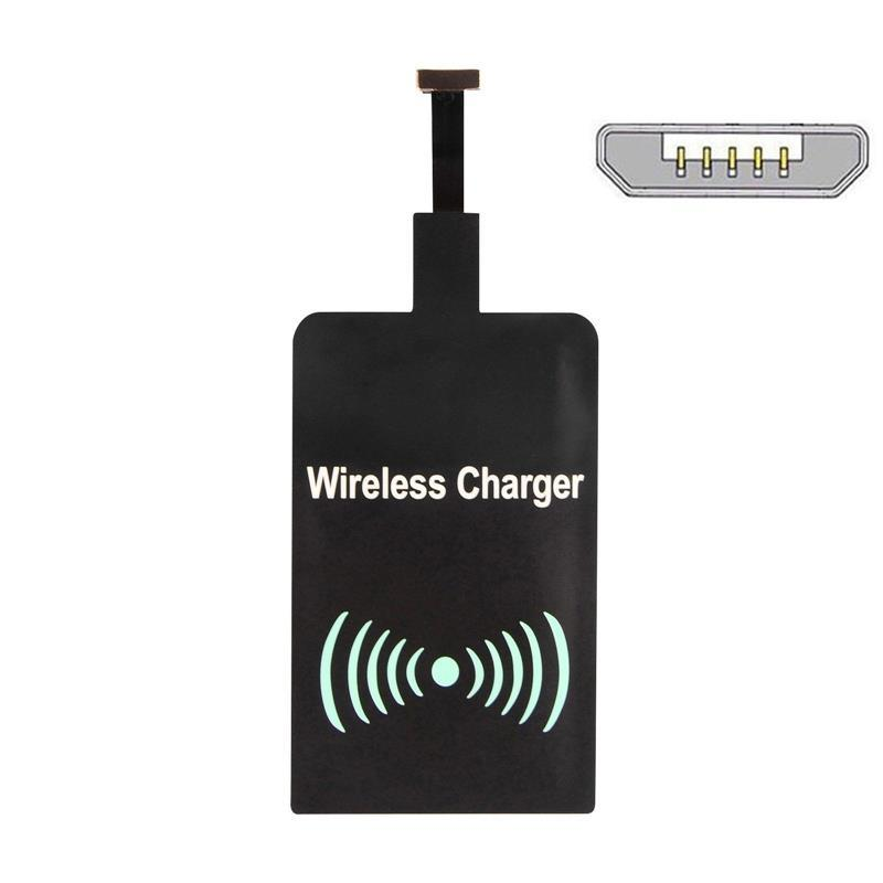 Qi Wireless Charger Adapter Adapter Bluetooth Mini Jack Oneplus 5 Usb C Adapter Kingston M 2 Pcie Adapter: Qi Wireless Charger Charging Adapter Receiver Pad Coil