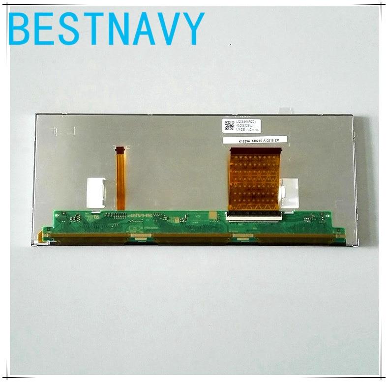 Original 8.8inch LCD display LQ088K5RZ01 screen BM 937087001 for Bmw CID F25 X3 2015 Car DVD navigation LCD Panel