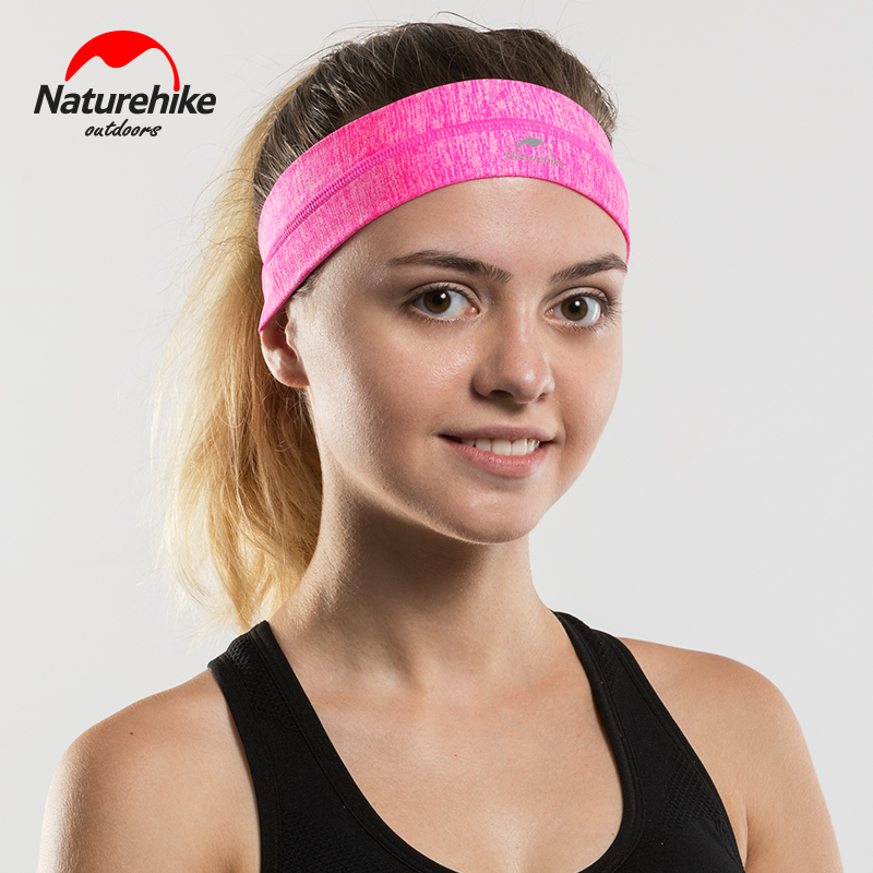 NatureHike NH17Z020 D Headband Non slip Sweatband Wrist Band Soft Stretchy  Bandana Running Crossfit Yoga Gym Fitness Running-in Scarves from Sports ... 211abb7c0d6