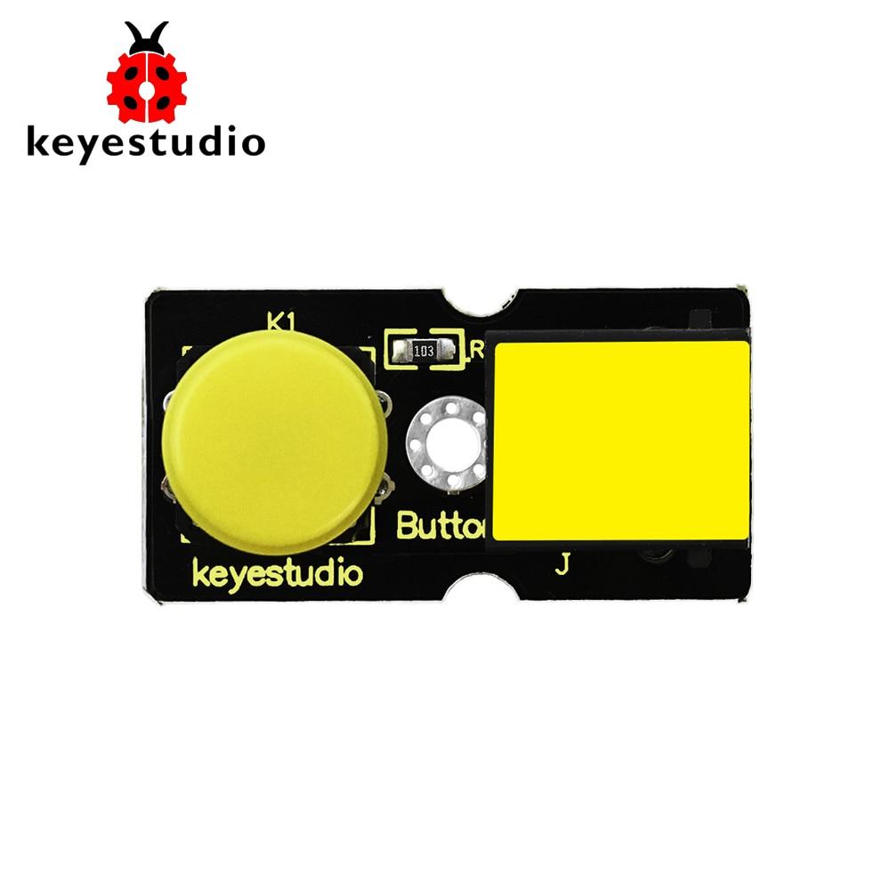 New! Keyestudio RJ11 EASY Plug Digital Push Button Module For Arduino STEAM