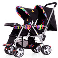 Marca de Alta Qualidade de Viagem Leve Poussette Gêmeos Do Bebê Carrinho De Bebê Carrinho Portátil Dobrável Carrinho De Bebê Carrinho de Bebê Carrinho de Bebé