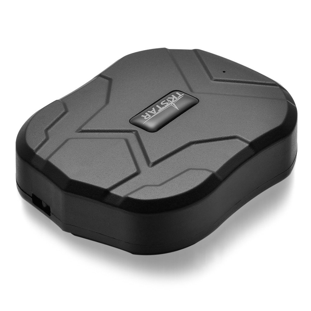 TK-905 Mini Waterproof Tracking Device with Powerful Magnet Long Standby GPS Tracker Locator for Kids Seniors Pets Cars Black