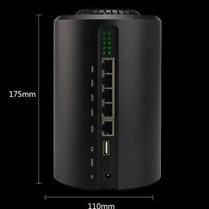 Image 4 - Repetidor wifi gigabit 11AC, enrutador 5G de doble banda de 1200Mbps a través de la pared, extensor de rango de alta potencia, punto de acceso de largo alcance