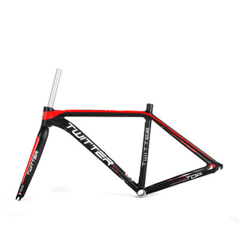 Road Bike Frame Super Light AL7005 Bicycle Frame 46/48/50/52cm +Carbon Fork 700C Wheel Bicycle Parts frame 700c 48 50 51 54 58 60cm visp790 fixed gear frame aluminium alloy mountain bicycle frame road bike frame fork
