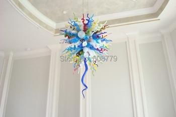 送料無料ホテルデザインカラフルなムラーノガラスアートモロッコシャンデリア