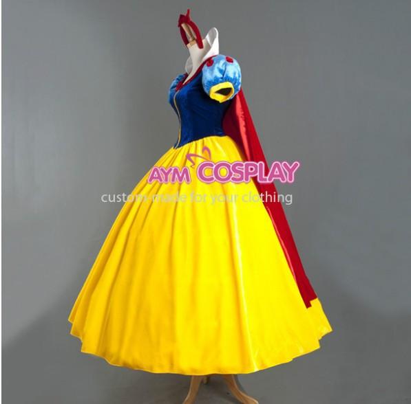Hot Sale Snow White Princess Dress Cosplay Costume Womens