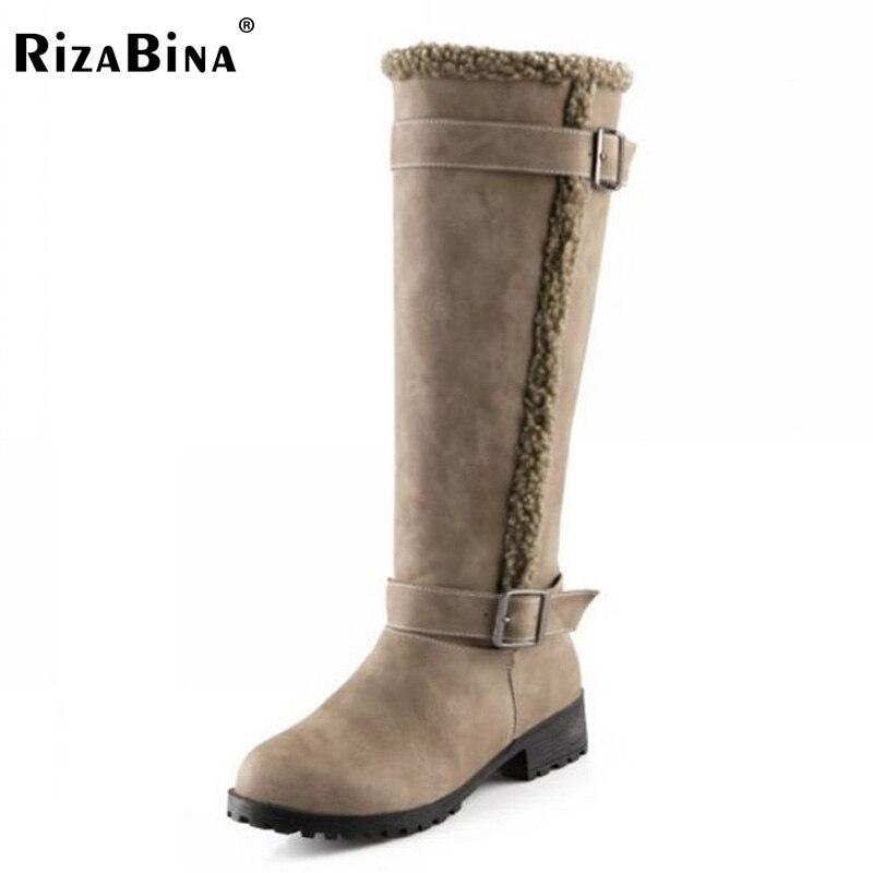 aliexpress buy rizabina flat knee boots