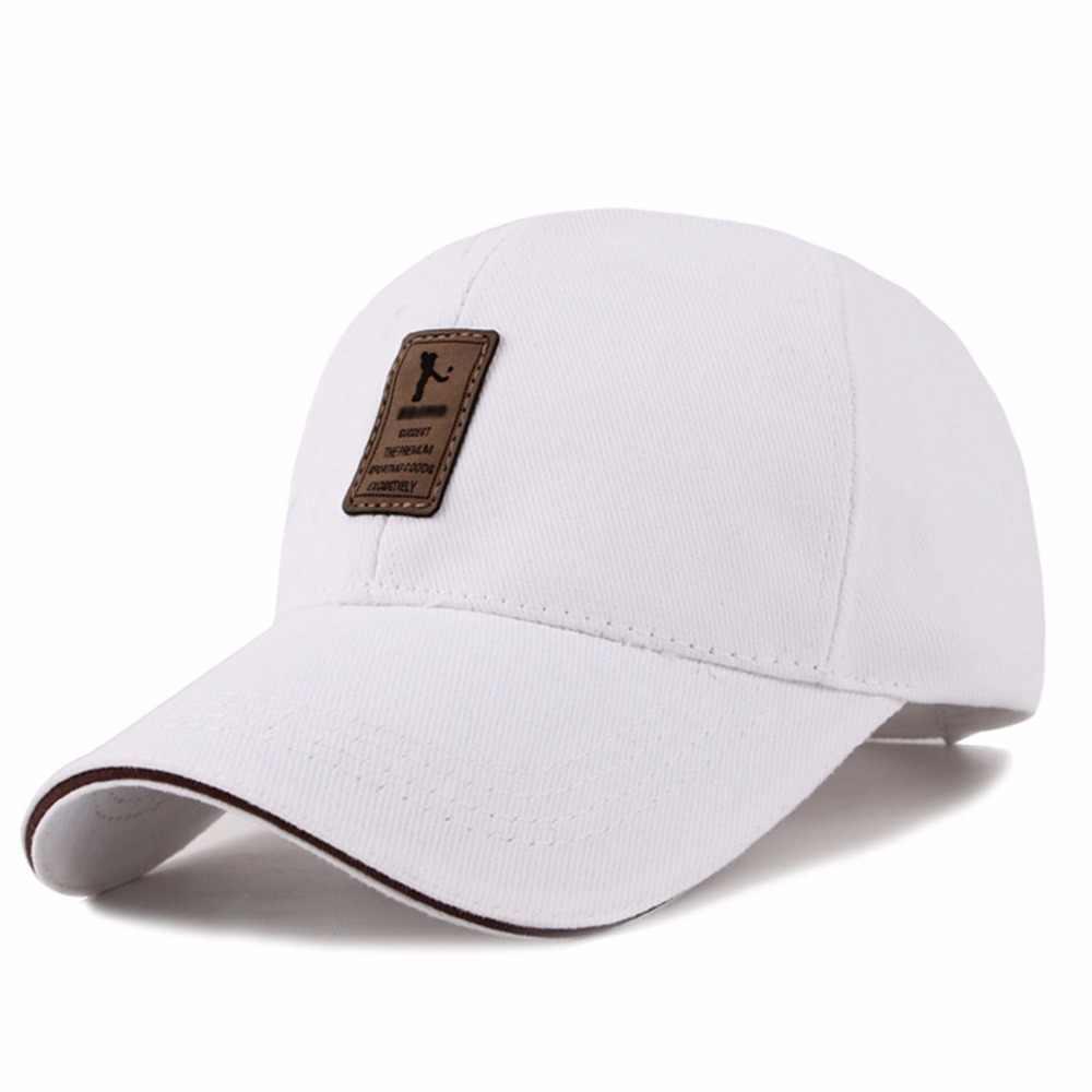 8354602d ... New Men's and Women's Cotton Golf Caps Summer Autumn Hat Outdoor Travel  Sports Sun Hats Baseball ...