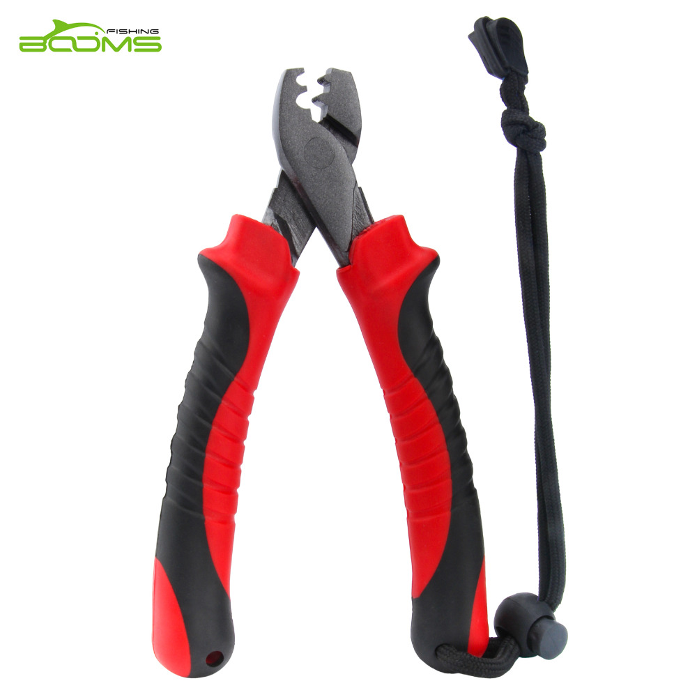 Booms Fishing CP2 Fishing Crimping Pliers For Single-Barrel Sleeves Tools