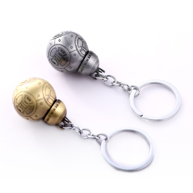 Hot Star Wars Cute Robot BB-8 Cosplay Key chains holder For Fans