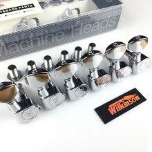 Wilkinson WJN 07 Elektrische Gitaar Machine Heads Tuners Voor St Of Tl Chroom Zilver Stemsleutels (Met Verpakking)