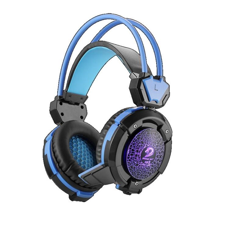 RBAYSALE X8S Stereo Wired Game Headset LED Shining Headphone With Microphone Music Playing Dazzle Headset Bass Laptop Earphone