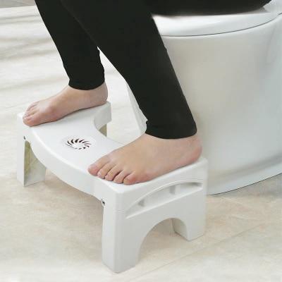 Image 3 - Genuine Vaknz Bathroom Folding Portable Stool Toilet Stool Step Footstool-in Bathroom Chairs & Stools from Furniture