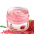 Free Shipping Skin Care Face Oil-control No-clean Mask Transparent Pomegranate Moisturizing Whitening Face Sleeping Mask