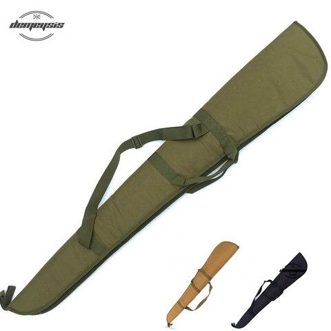 Bolsa de Arma Tático Macio Preto Resistente Rifle Espingarda Case Bolsa Ombro Carabina Tiro Arma Carry Mod. 85831