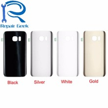5pcs/lot for Samsung Galaxy S7 G930 S7 edge G935 Battery Door Back Glass Case Cover Housing Replacement