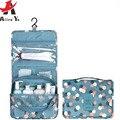 ATTRA-YO Wash Neceser Impermeable bolsa de Cosméticos Organizador Colgante Bolsas de Maquillaje nueva caja de la bolsa de Viaje de Lavado Baño LS8904ay2