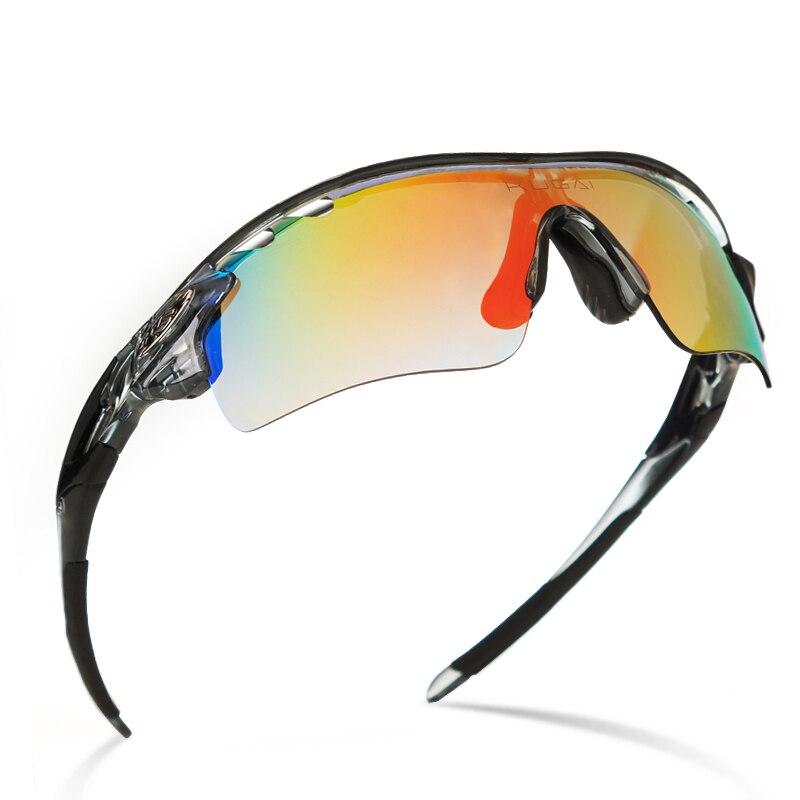0ba1d4618b965 Polarizada Óculos de Ciclismo Bicicleta óculos de Sol Óculos de 5 Grupos de  Lentes de Óculos de Miopia Quadro de Bicicleta Ao Ar Livre Esportes AC0105