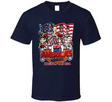 USA Basketballer 1992 Dream Team Caricature T Shirt New Short Sleeve Round Collar Mens T-Shirts Fashion 2018 Top Tees