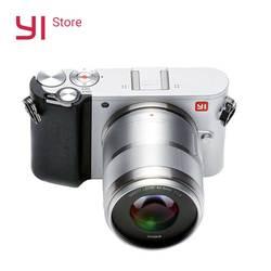 يي M1 Mirrorless كاميرا رقمية رئيس التكبير اثنين عدسة LCD الحد الأدنى الخام 20MP مسجل فيديو 720RGB النسخة الدولية
