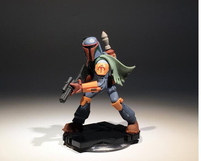Infinity 9.5cm Original Star Wars Bounty Hunter Jango Fett Action Figures Toys Star Wars Collectible Figure Model Toy