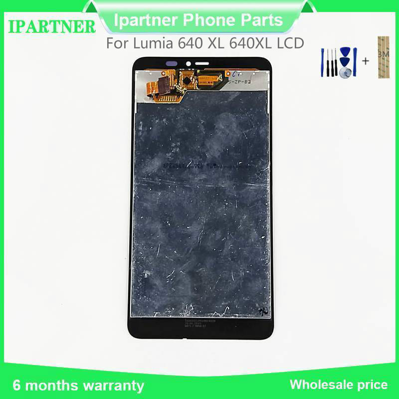 5.7 Inch Top Qua For Microsoft For Lumia 640 Xl 640xl Lcd Display With Touch Screen Digitizer Assembly Without Frame Replacement