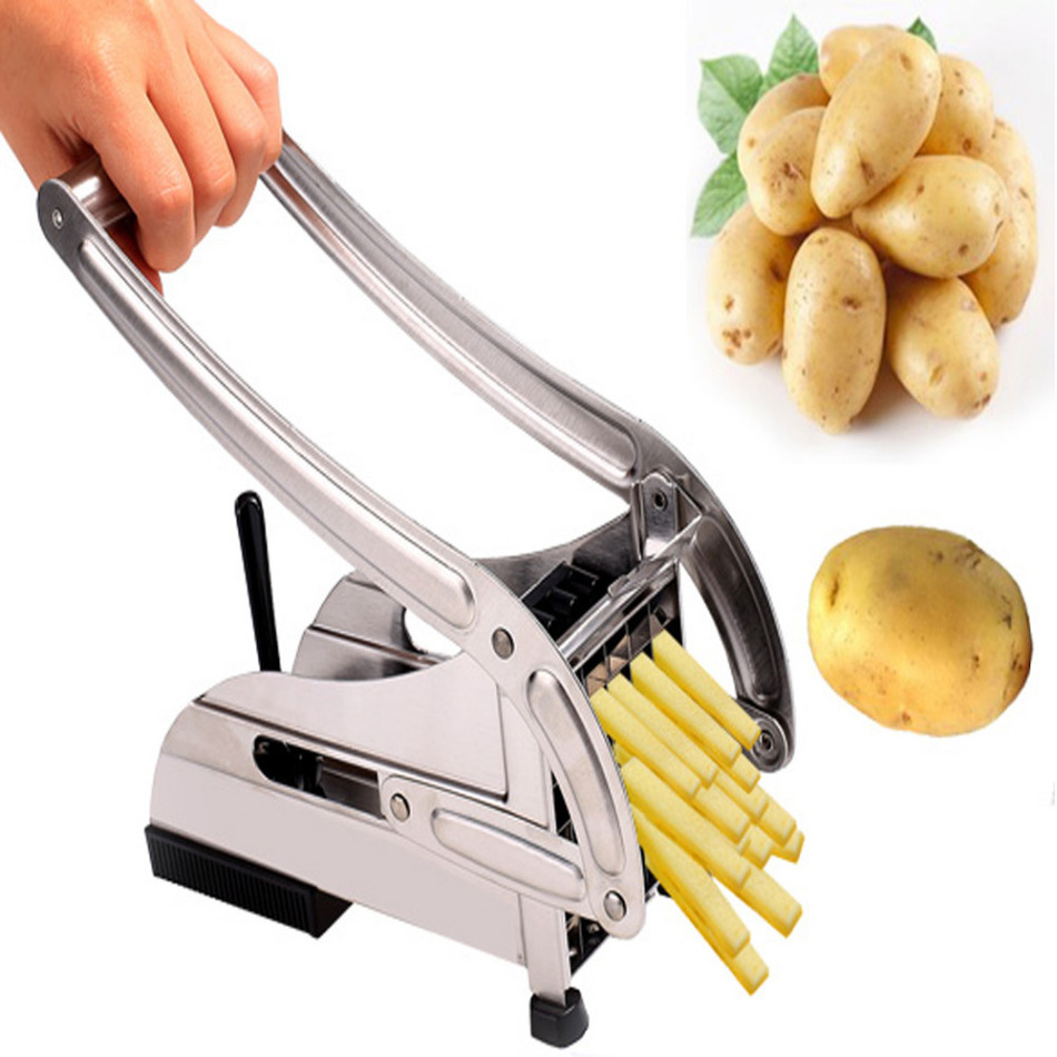6d02b8d075b Homestyle Stainless Steel French Fries Potato Chips Strip Cutting Cutter  Machine Maker Slicer Chopper. Price