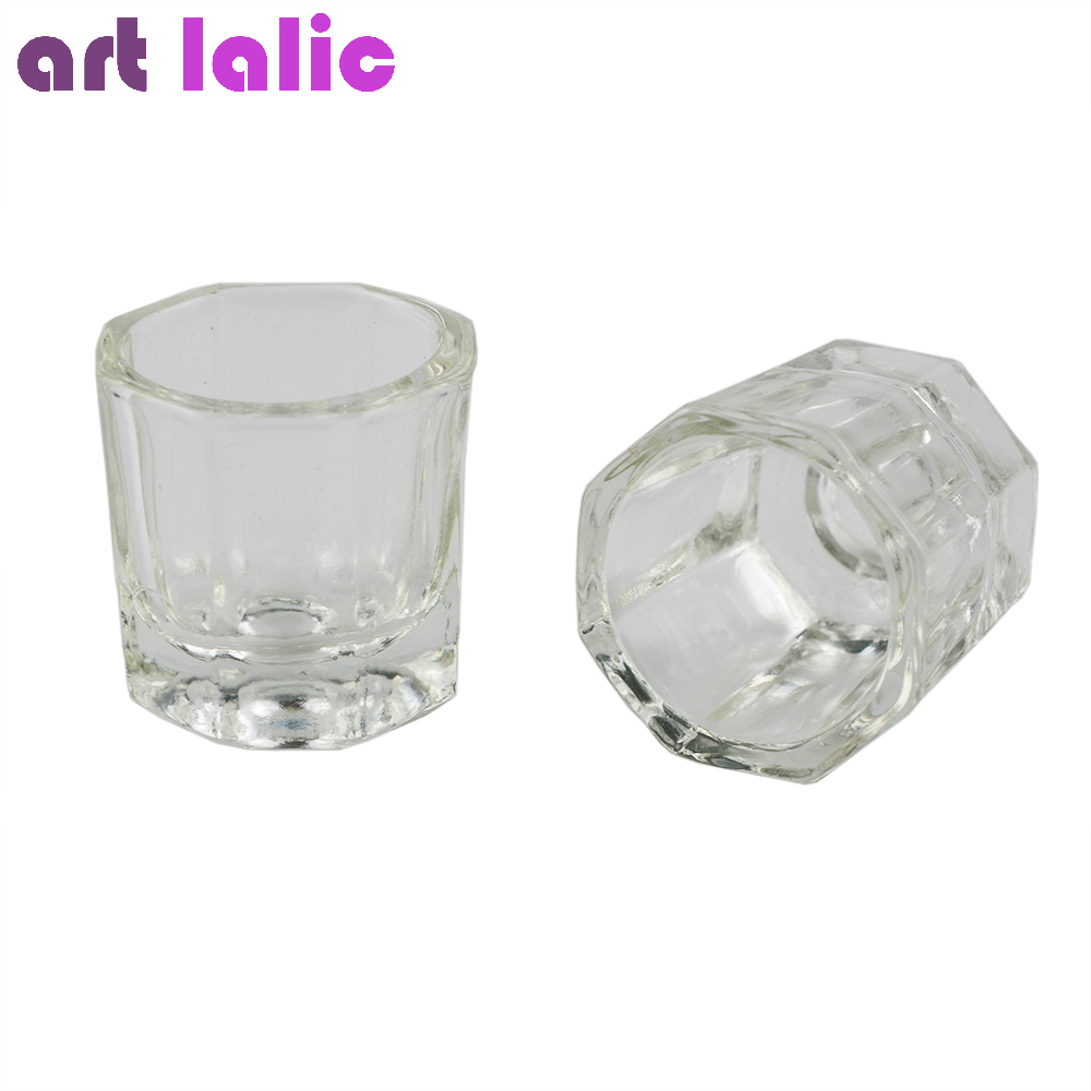 Artlalic 1pcs Crystal Glass Dappen Dish/Lid Bowl Cup Crystal Glass Dish Nail Art Tools Acrylic Nail Art Equipment Mini Bowl Cups m18 electric drill accessories lithium ion battery 18v 4000mah for milwaukee m18 48 11 1828 48 11 1840 18v 4 0ah 72wh battery