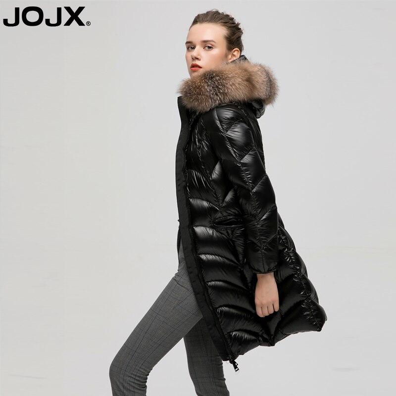 JOJX Jacket Women Coat Winter 2018 New Jacket Women Fur Collar Warm Woman Parka Down Jacket Winter Jacket Women Coat