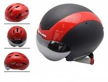 GUB TT Cycling Helmet Track Bike MTB Road Bike capacete Helmet casco With Magnetic UV Visor Bicycle Helmet Safety Cap