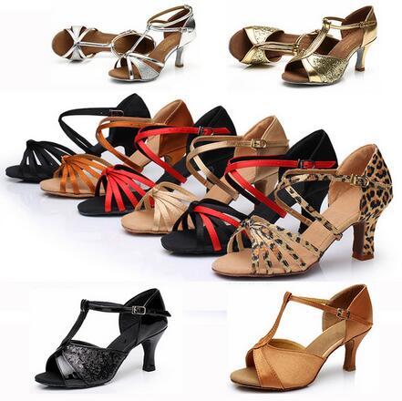 New 2017 Hot-Selling Brand New Latin Dance Shoes High Heel For Ladies/Girls/Women/Cheap Ballroom Salsa Tango Dance Shoes