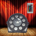 Wireless remote control LED Par 9x10W+30W  RGB 3N1 LED  Wash Light Stage Uplighting No Noise Remote control