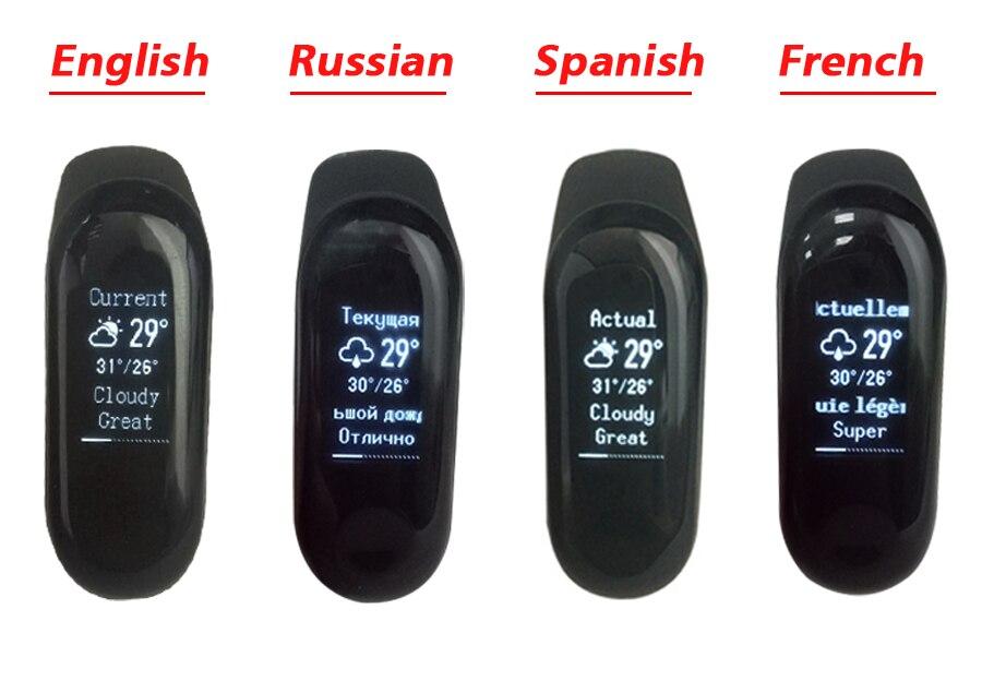 Xiaomi Mi Band 3 Global Version Miband 3 Fitness Tracker