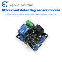 The Current Transformer 0 5A 0 10A 0 20A 0 50A 0 100A AC Current Sensor